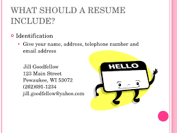 What A Job Resume Should Look Like by Resume Writing High