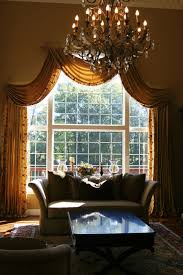 Curtain Designs For Arches Window Treatments For Tall Windows Family Room Transitional With