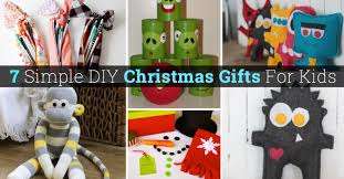christmas gifts for from 30 simple diy christmas gifts for kids diy projects