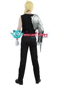 Scorpion Costume Fullmetal Alchemist Edward Elric Cosplay Automail Arm For Sales