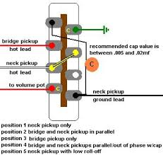 is this possible with a standard 5 way switch telecaster guitar