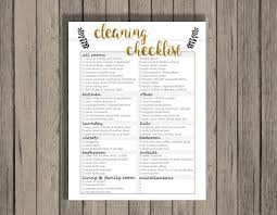 spring cleaning checklist printable annual cleaning checklist