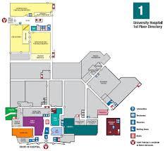 Maternity Hospital Floor Plan First Floor Map Augusta Georgia Ga University Health Care System