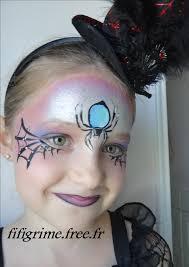 comment faire un maquillage de squelette maquillage enfant sorciere halloween modele maquillage sorciere