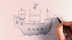 r e a p concept art how to draw a pirate ship youtube