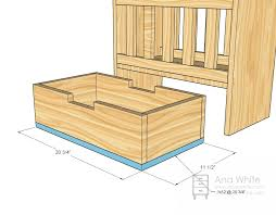 Free Woodworking Plans For Doll Furniture by Ana White Olivia U0027s Doll Crib Diy Projects