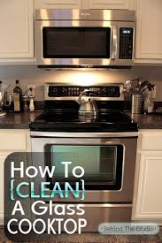 How To Remove Cooktop From Counter Home Made Cleaning Diy U2013 How To Clean Your Glass Cooktop With