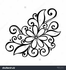 flower designs to draw simple flower drawing the best