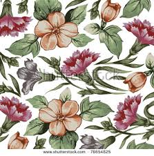 antique flowers vector free vector stock