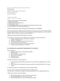answers to bebtech 8th semester tqm exam paper internal audit