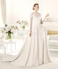 elie saab wedding dress price ph15610 bridal dress satin lace appliques princess cut dress
