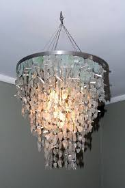 Recycled Glass Light Fixtures by Recycled Glass Chandelier Campernel Designs