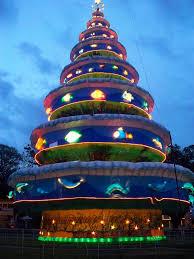 panoramio photo of twirling christmas tree in bais city