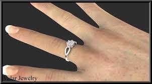 engagement rings flower design engagement ring flower design vidar jewelry unique custom