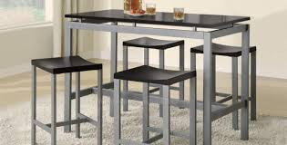 dining room popular black dining room table for 8 engaging tall