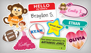 name stickers stickeryou products