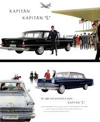 opel kapitan 1960 regress press llc automobile catalog reprints in current publication