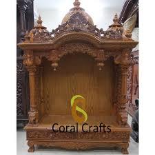 pooja mandapam designs teak wood temple teak wood mandir teak wood mandapam usa india