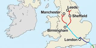 map uk leeds this map shows the u k s controversial hs2 high speed rail plan