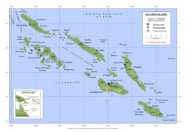 Vanuatu Map Impressum