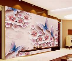 compare prices on orchid wall murals online shopping buy low beibehang wallpaper 3d wallpaper romantic butterfly orchid photo photo wall mural wallpaper modern home decorative painting