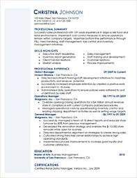 easy to read resume format resume template styles resume templates myperfectresume com