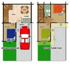 Floor Plan For 2 Story House 2 Storey House Floor Plan Samples House Plan