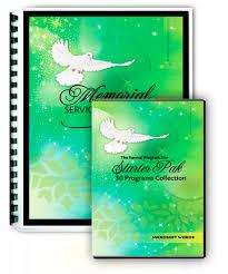funeral program software funeral home software program packages discount program templates