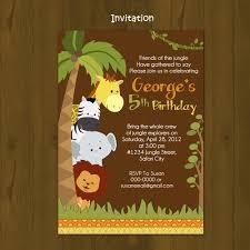 safari printable birthday invitation card diy splashboxdesigns