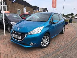 peugeot 208 2004 used blue peugeot 208 for sale suffolk
