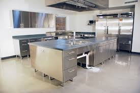 small stainless steel kitchen table popular stainless steel kitchen work table home designs