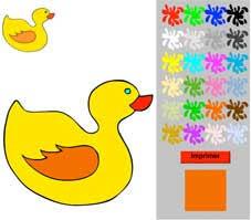 Coloriages en ligne pour les enfants de moins de 3 ans  Tête à modeler