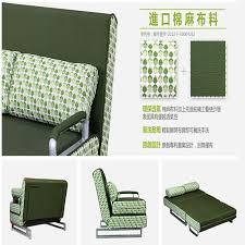 Folding Sofa Bed 100 Cotton Sofa Bed High Resilience Foam Sponge Sofa Folding Sofa