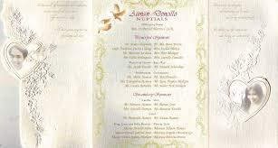 simple wedding program exles best of wedding invitation layout exles wedding invitation design