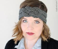 crochet headbands colorful crochet headband pattern cottageartcreations