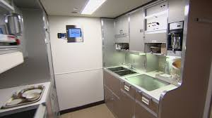 air force one interior inside air force one galley video abc news