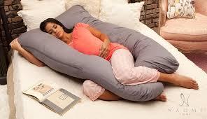 amazon com naomi home cozy body pillow gray home u0026 kitchen