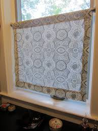 Simply Shabby Chic Roman Shades A Simple Panel To Cover The Bottom Half Of A Window Window