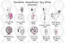 s day charms pandora valentines pandora s day collection 2014 prices
