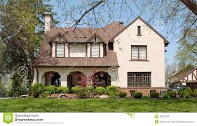 Tudor Style House English Tudor Style Home Stock Photo Image 40249506