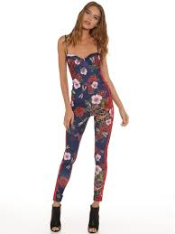 adidas one jumpsuit adidas ora roses all in one jumpsuit in baroque floral print