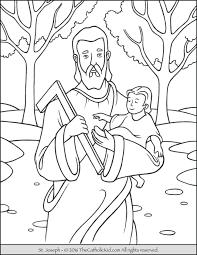 carpenter archives catholic kid catholic coloring pages