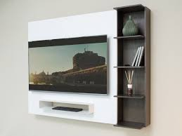 libreria tv meuble tv avec bibliothèque smart arredaclick