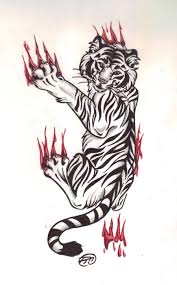 cool and tiger designs