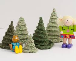 knitted christmas knitted christmas trees loveknitting