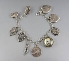 charm bracelet charms images Because vintage sterling silver charm bracelets tell stories jpg