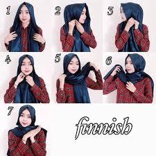 tutorial hijab pashmina untuk anak sekolah tutorial hijab segi empat yang menutupi dada tutorial hijab paling