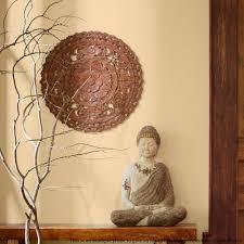 thai traditional lotus carved wood wall panel siam sawadee