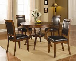 Round Wood Dining Room Tables Round Dining Table With Chairs