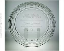 50th anniversary plate engraved presentation plates trays platters engraved for a personalized gift